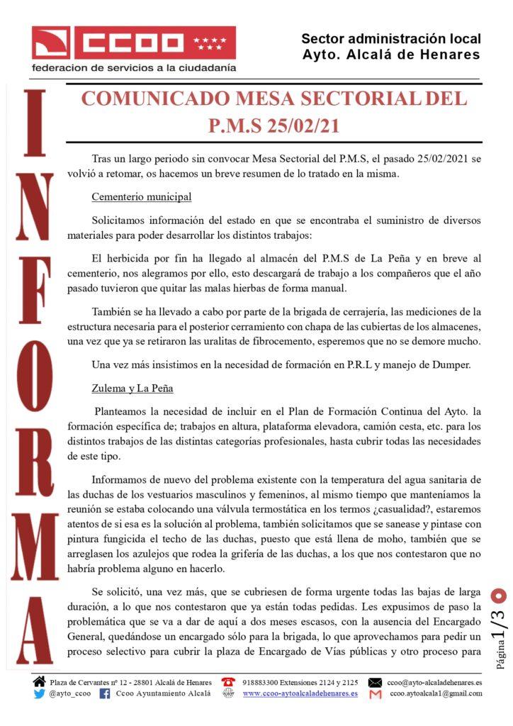 Ccoo Ayto Alcalá De Henares Nos Movemos Por Ti